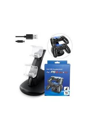 Stacja Dokująca PS4 Ładowarka 2 Kontrolerów