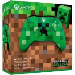 PAD kontroler XBOX ONE Minecraft zielony