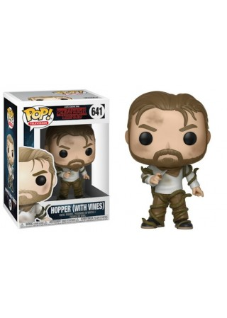 FIGURKA FUNKO POP VINYL: STRANGER THINGS - HOPPER W/VINES